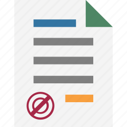 appointment, approved papers, bank papers, checkpoint, feed, list, loan papers icon