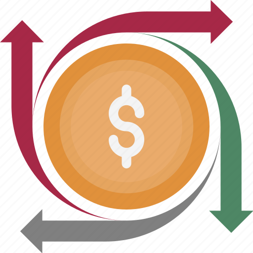 Currency, dollar valuation, dollar, currency exchange, foreign exchange icon