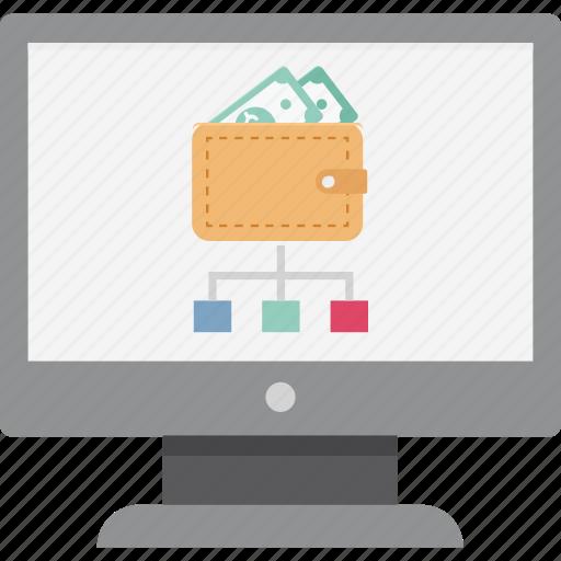 Online earning, online earning sharing, earning sharing, affiliate earning, profit share, money share, online profit share icon