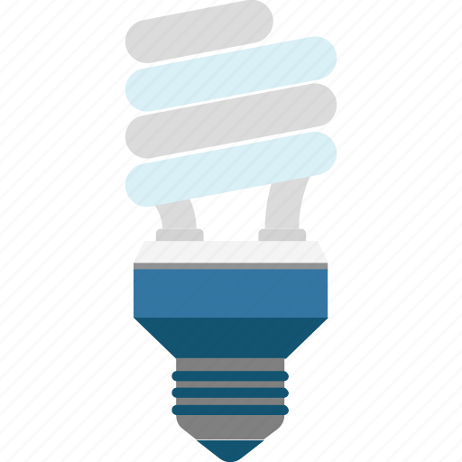 Led bulb, bulb, light bulb, electric light, energy saver icon
