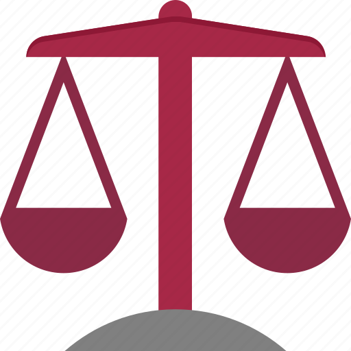 Justice scale, law, court, legal, balance scale icon