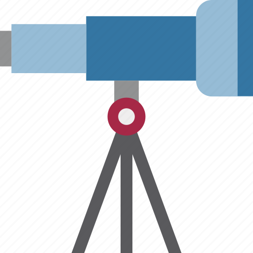 Astronomy, search, spyglass, telescope, vision icon - Download on Iconfinder