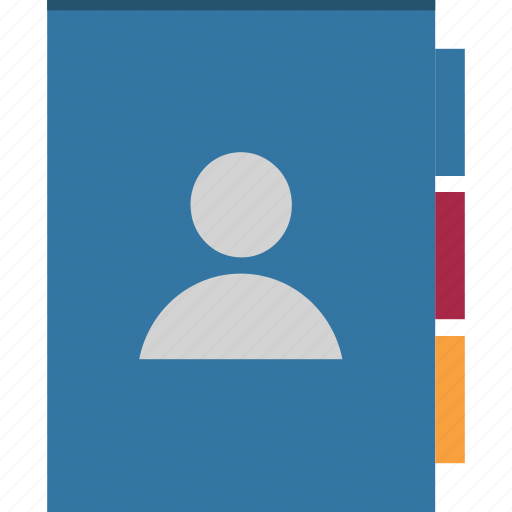 address book, phone book, phone directory, telephone directory, yellow pages icon