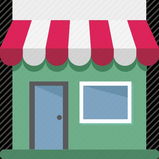 market, marketplace, retail shop, shop, shopping store, store, vender icon
