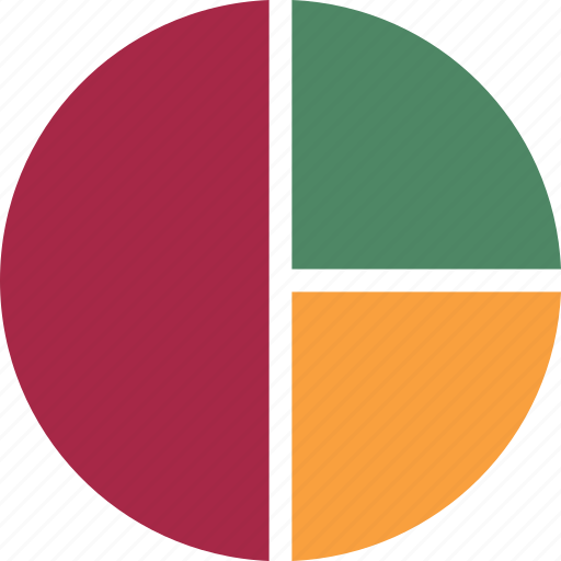 Diagram, graph, pie graph, chart, pie chart icon