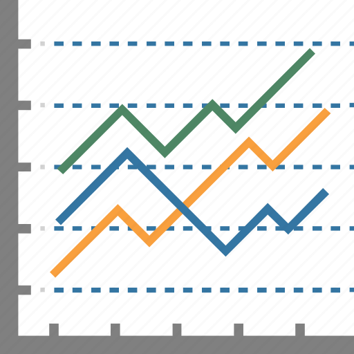 Bar chart, statistics, bar graph, bars graphic, financial chart icon