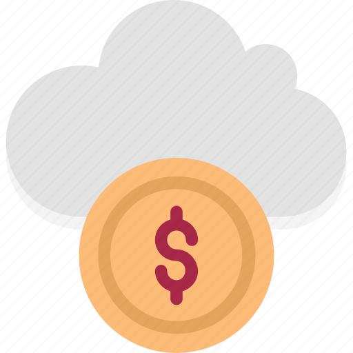 Cloud coins, cloud dollar, cloud earning, cloud revenue, cloud with coins, cloud with dollar, dollar icon - Download on Iconfinder