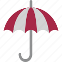 finance insurance, insurance, parasol, sunshade, umbrella icon