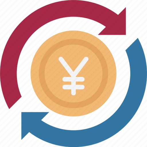 jpy, money transfer, yen, yen processing, yen refresh, yen value, yen with processing icon