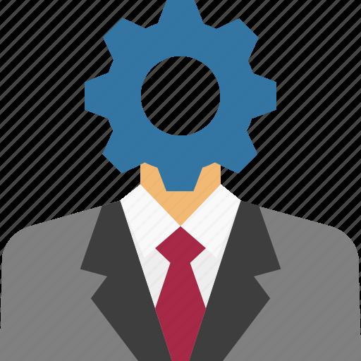 Account settings, user settings, management, settings, manager, team manager, profile settings icon