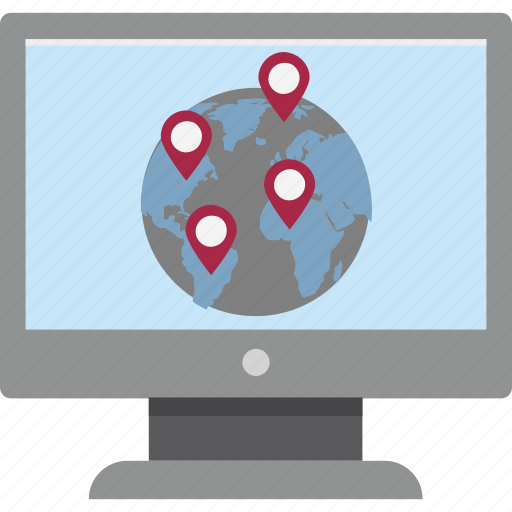 Find our location, map online, online location, search branches, worldwide branches, worldwide location icon - Download on Iconfinder