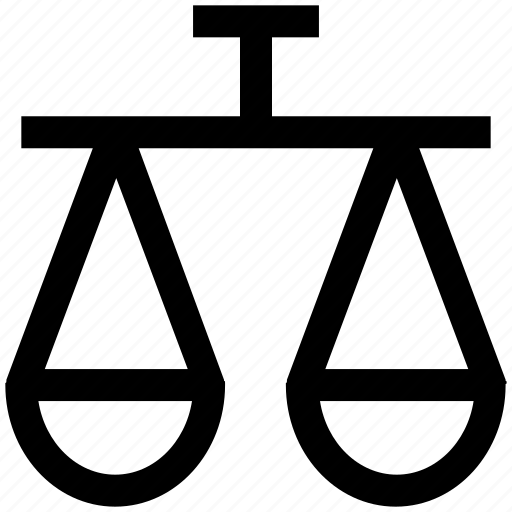 .svg, balance, business, justice, law, modern, scales, weight icon