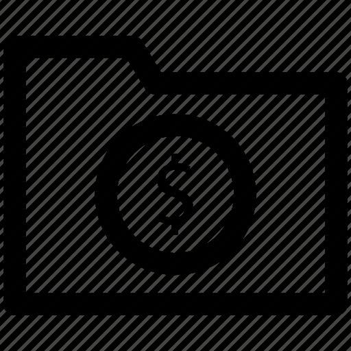 .svg, computer folder, document, dollar sign, file, folder, paper icon