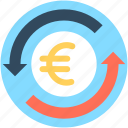 currency, currency exchange, euro exchange, foreign exchange, money exchange icon