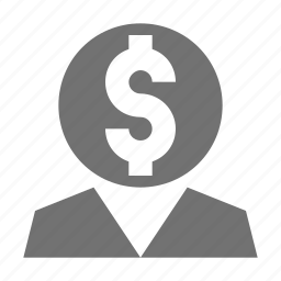business idea, business mind, dollar sign, entrepreneurship, idea icon