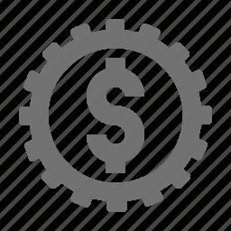currency, dollar, dollar sign, finance, money icon