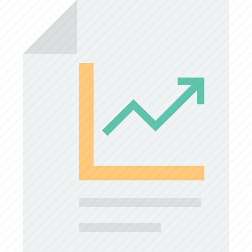 analytics, business analysis, business report, graph report, growth graph report, report, statistics icon