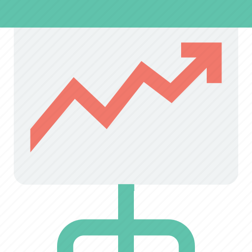 Analytics, business chart, infographic, line graph icon - Download on Iconfinder