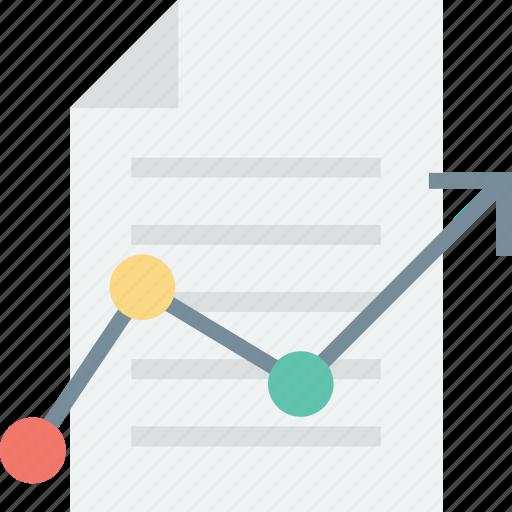analytical report, analytics, bar graph, business report, graph report, report, statistics icon