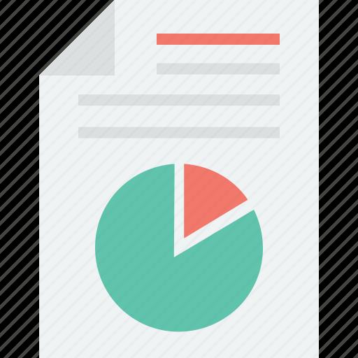 analytics, graph report, pie chart, pie graph icon