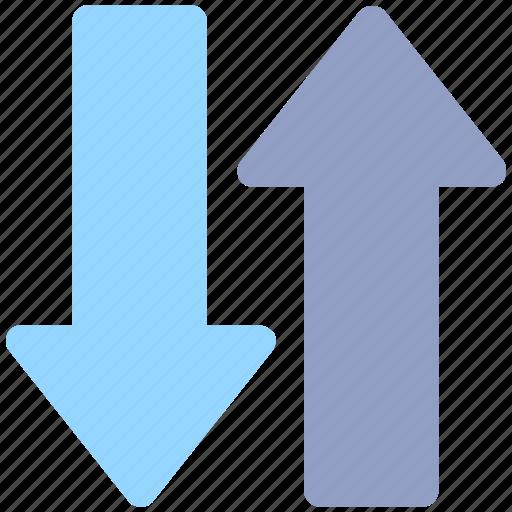 arrow, down, down arrow, transfer, up, up arrow icon