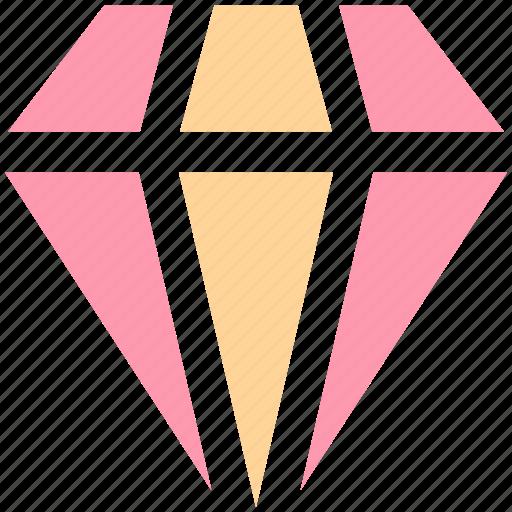 brilliant, crystal, diamond, diamonds, jewelry, value icon