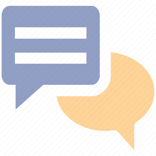 chat, conversion, message, sms, text icon