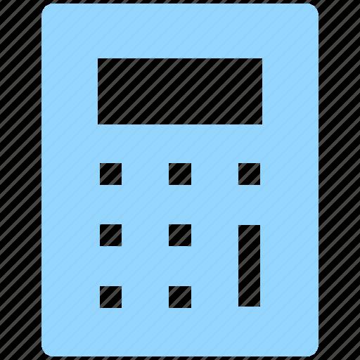 accounting, calc, calculating, calculator, math icon