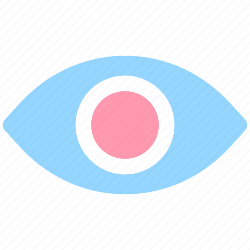 eye, show, view, visibility, visual icon