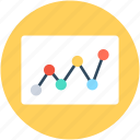 analysis, analytics, graph, infographic, line graph icon