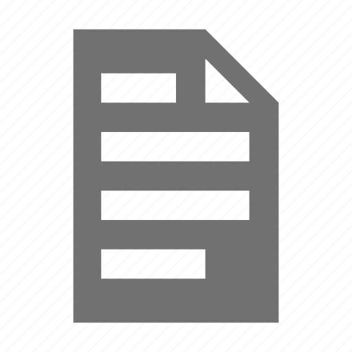 business file, document, evidence, file, report icon