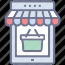 eshop, estore, online market, online shop, online store icon