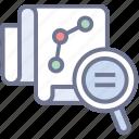data analysis, market analysis, market survey, marketing performance, marketing report icon