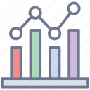analytics, analyze, analyzing, graph analysis, research analysis icon