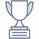 achievement, award, best, success, trophy icon