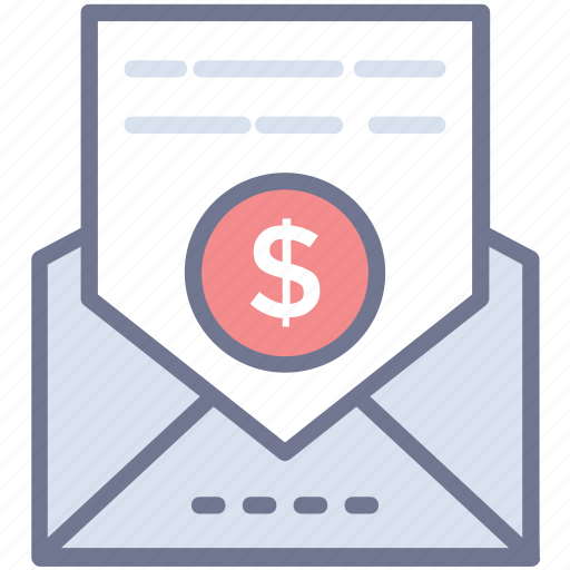 business application, business email, business letter, professional email, referral letter icon