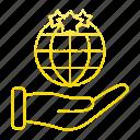 global, hand, market & economics, marketing, seo, world