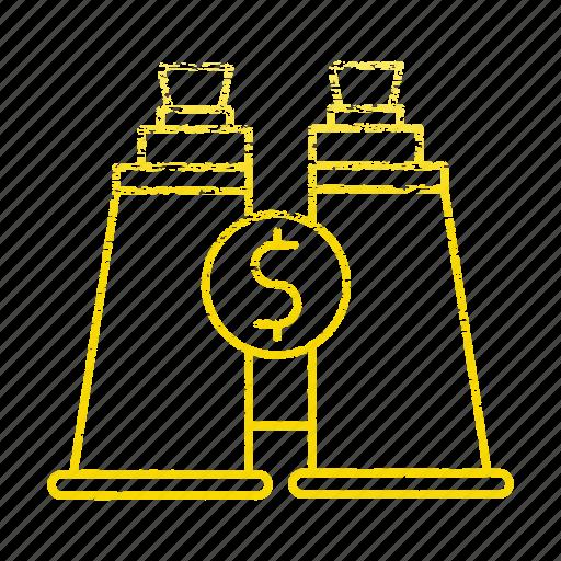 forcast, market, market & economics, marketing, view icon