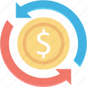 bar, diagram, dollar, finance, graph, growth, report icon