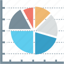 data, diagram, finance, graph, growth, pie, report icon