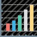 analytics, business, finance, graph, marketing, money, statistics icon