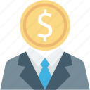 analytics, business, chart, coin, graph, marketing, statistics icon