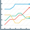 analysis, bar, finance, graph, growth, pie, report icon