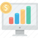 analytics, business, graph, marketing, money, office, statistics icon