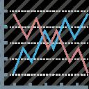 analysis, arrow, arrows, finance, growth, increase, plant icon