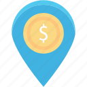 building, country, direction, flag, location, place, pointer icon
