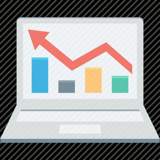 analysis, data, diagram, finance, graph, growth, pie icon