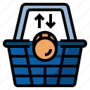 cart, market, shopping, market economy, market force icon