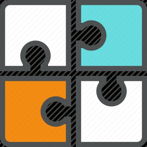 challenge, jigsaw, problem, puzzle, solution, solve, success, teamwork icon