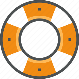 help, life buoy, lifebuoy, lifeguard, lifesaver, preserver, ring, support icon